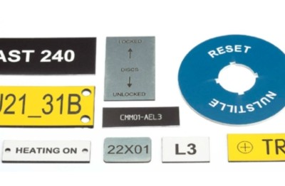Partex engraved plates and labels